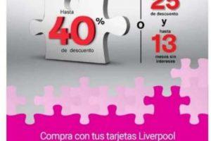 Promoción Liverpool Buen Fin 2020: $500 de bonificación en la siguiente compra