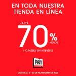 LOB El Buen Fin 2020: Hasta 70% de descuento en toda la tienda
