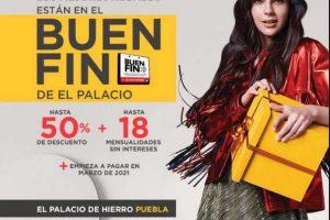 Palacio de Hierro Buen Fin 2020: Hasta 50% de descuento + 18msi