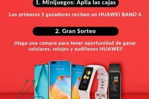Shein Buen Fin 2020 Gana Celulares, relojes y audífonos Huawei