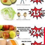 Folleto Soriana Mercado frutas y verduras del 3 al 5 de noviembre 2020