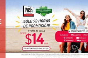 Ofertas Buen Fin 2020 en Viva Aerobus: aparta tu vuelo desde $14