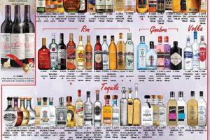 Promociones Bodegas Alianza vinos y licores del 14 al 27 de diciembre 2020