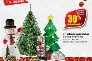 Ofertas Chedraui Navidad del 4 al 6 de diciembre 2020