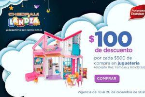 Chedraui: $100 de descuento en juguetería para Navidad y Reyes Magos