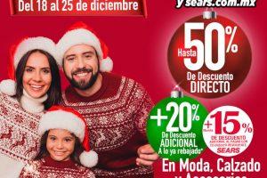 Sears Venta Nocturna Navideña del 21 al 25 de diciembre 2020
