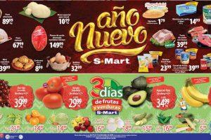 Folleto S-Mart frutas y verduras del 29 al 31 de diciembre 2020