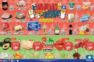 Folleto S-Mart frutas y verduras del 22 al 24 de diciembre 2020