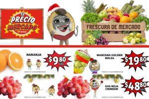 Folleto Soriana Mercado en frutas y verduras 22 al 24 de diciembre 2020