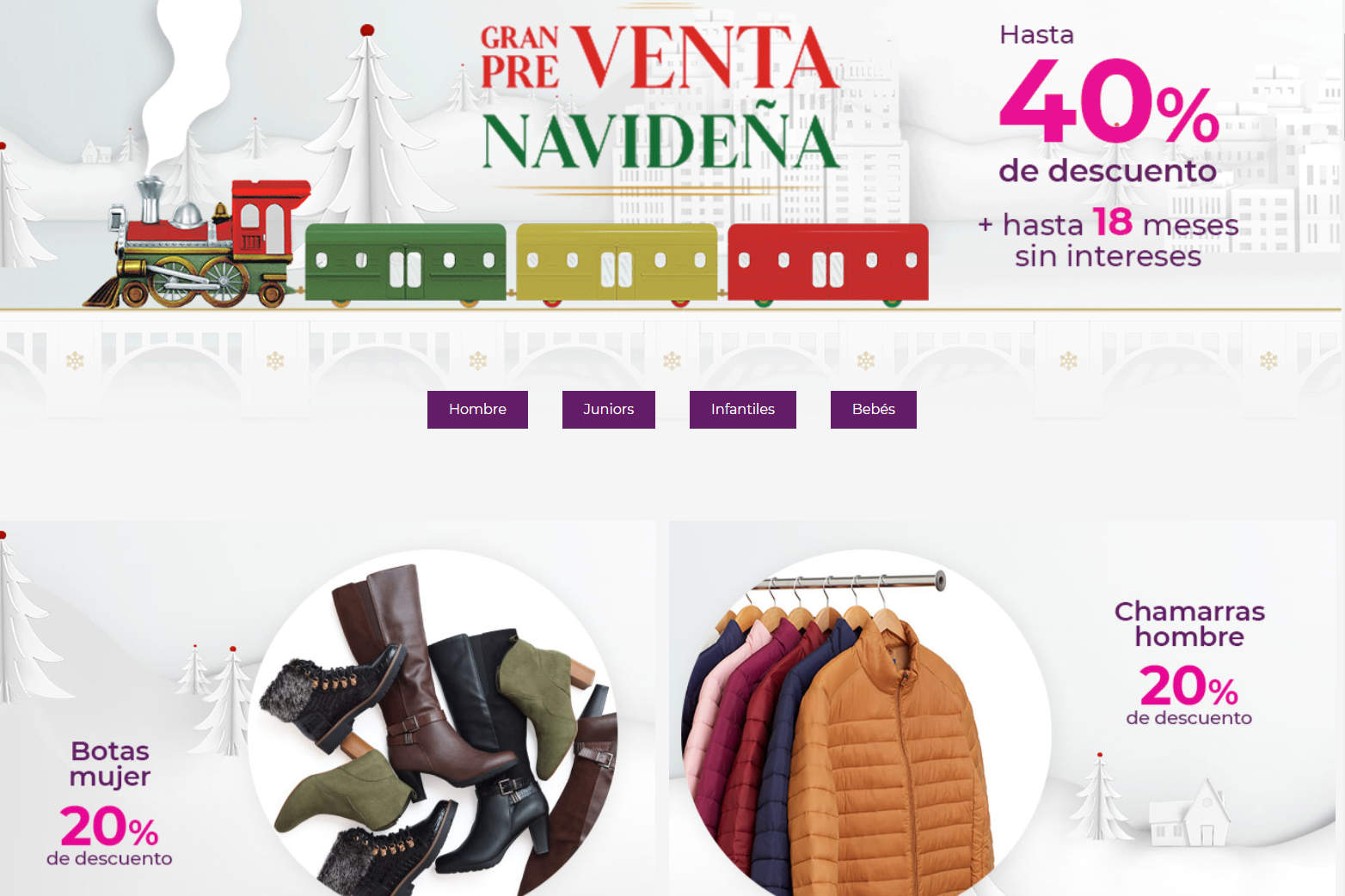 Suburbia: Venta Navideña del 1 al 9 de diciembre 2020