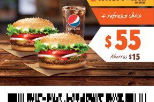 Cupones Burger King del 13 al 24 de enero de 2021