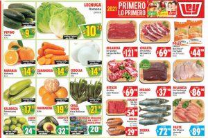 Folleto Soriana Mercado frutas y verduras 19 al 21 de enero 2021
