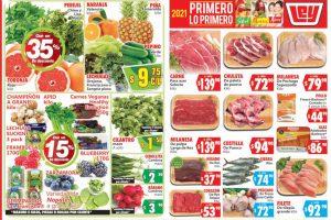 Folleto Casa Ley Frutas y verduras 5 y 6 de enero 2021