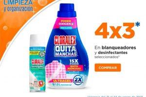 Chedraui: 4x3 en blanqueadores y desinfectantes