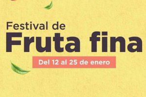 HEB - Folleto festival de Fruta Fina del 12 al 25 de enero 2021