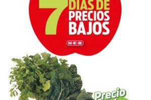 Folleto HEB Frutas y Verduras del 12 al 18 de enero 2021