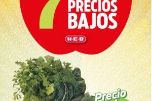 Folleto HEB Frutas y Verduras del 5 al 11 de enero 2021