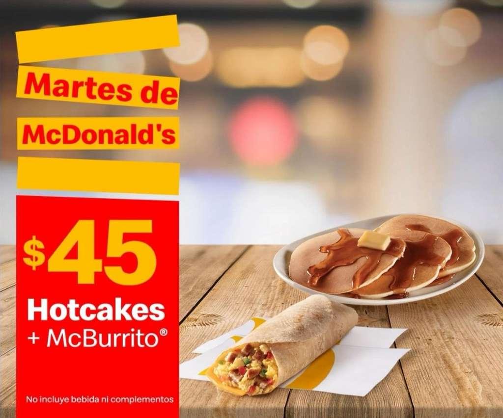 Martes de McDonalds 26 de Enero 2021