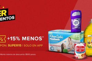 Mercado Libre: Cupón 15% descuento en Supermercado