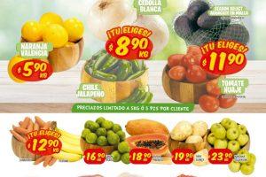 Folleto Mi Tienda del Ahorro frutas y verduras del 12 al 14 de enero 2021