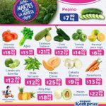 Folleto Super Kompras frutas y verduras 12 de enero 2021