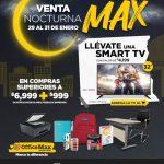 Office Max Venta Nocturna del 29 al 31 de enero de 2021