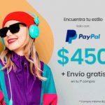 Privalia: $450 de descuento usuarios nuevos pagando con paypal