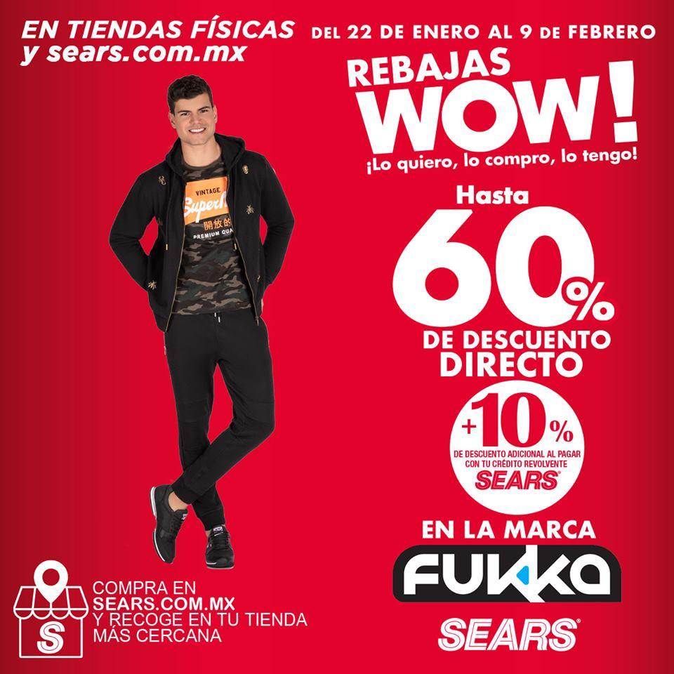 Sears Rebajas Wow 2021: hasta 60% de descuento + 10% adicional