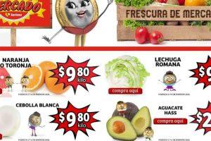 Folleto Soriana Mercado frutas y verduras 5 al 7 de enero 2021