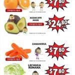 Folleto Soriana Mercado frutas y verduras 26 al 28 de enero 2021