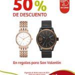 Soriana Regalos de San Valentín 50% de descuento