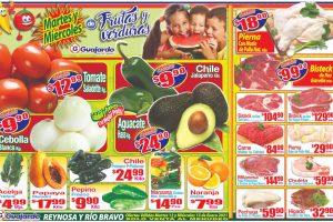 Folleto Super Guajardo frutas y verduras 12 y 13 de enero 2021