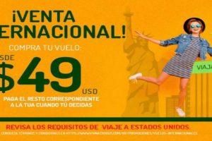 Gran Venta Internacional Viva Aerobus: Vuelos internacionales desde $49