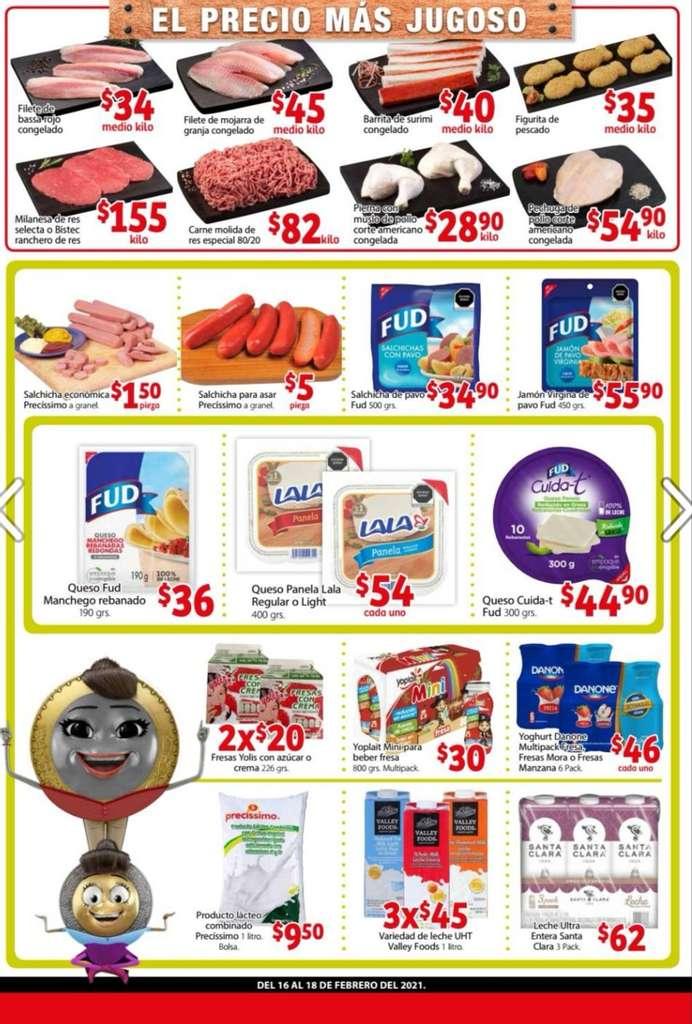 Folleto Soriana Mercado y Express Cuaresma del 16 al 18 de Febrero 2021