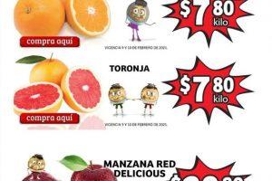Folleto Soriana Mercado frutas y verduras 9 y 10 de febrero 2021