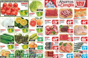 Folleto Casa Ley Frutas y verduras 2 y 3 de febrero 2021