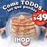IHOP: Todos los pancakes que puedas comer por $41 Febrero de 2021