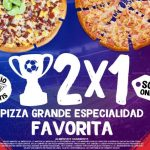 Pizza Hut: 2x1 en Pizzas Grandes hoy 24 de febrero de 2021