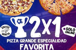 Pizza Hut: 2×1 en Pizzas Grandes hoy 24 de febrero de 2021