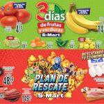 Folleto S-Mart frutas y verduras del 2 al 4 de Febrero 2021