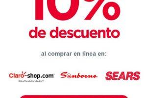 Banorte: 10% de Bonificación en Sears, Sanborns y Claroshop