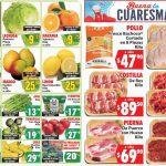 Folleto Casa Ley frutas y verduras 23 y 24 de marzo 2021