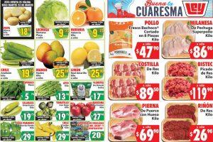 Ofertas Casa Ley frutas y verduras 23 y 24 de marzo 2021