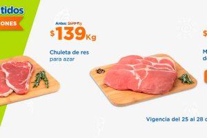Ofertas Chedraui en carnes del 25 al 28 de marzo 2021
