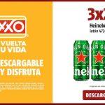 Cupón Oxxo 3x2 en Cerveza Heineken lata 473 ml