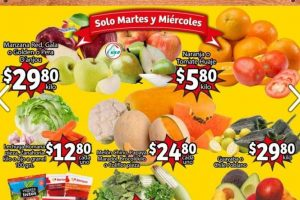 Folleto Soriana Mercado frutas y verduras 2 al 4 de marzo 2021