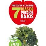 Folleto HEB Frutas y Verduras del 2 al 8 de Marzo 2021