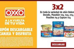OXXO: 3×2 en Atún dolores, dorado, Mazatún, Pouches y Cupcan