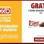 Cupón OXXO Chokis Brownie chocotella de 64 gr GRATIS
