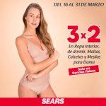 Sears: 3×2 en ropa interior y en trajes de baño al 4 de abril de 2021